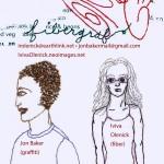 FiberGraf aka Iviva Olenick (fiber) and Jon Baker (graf)