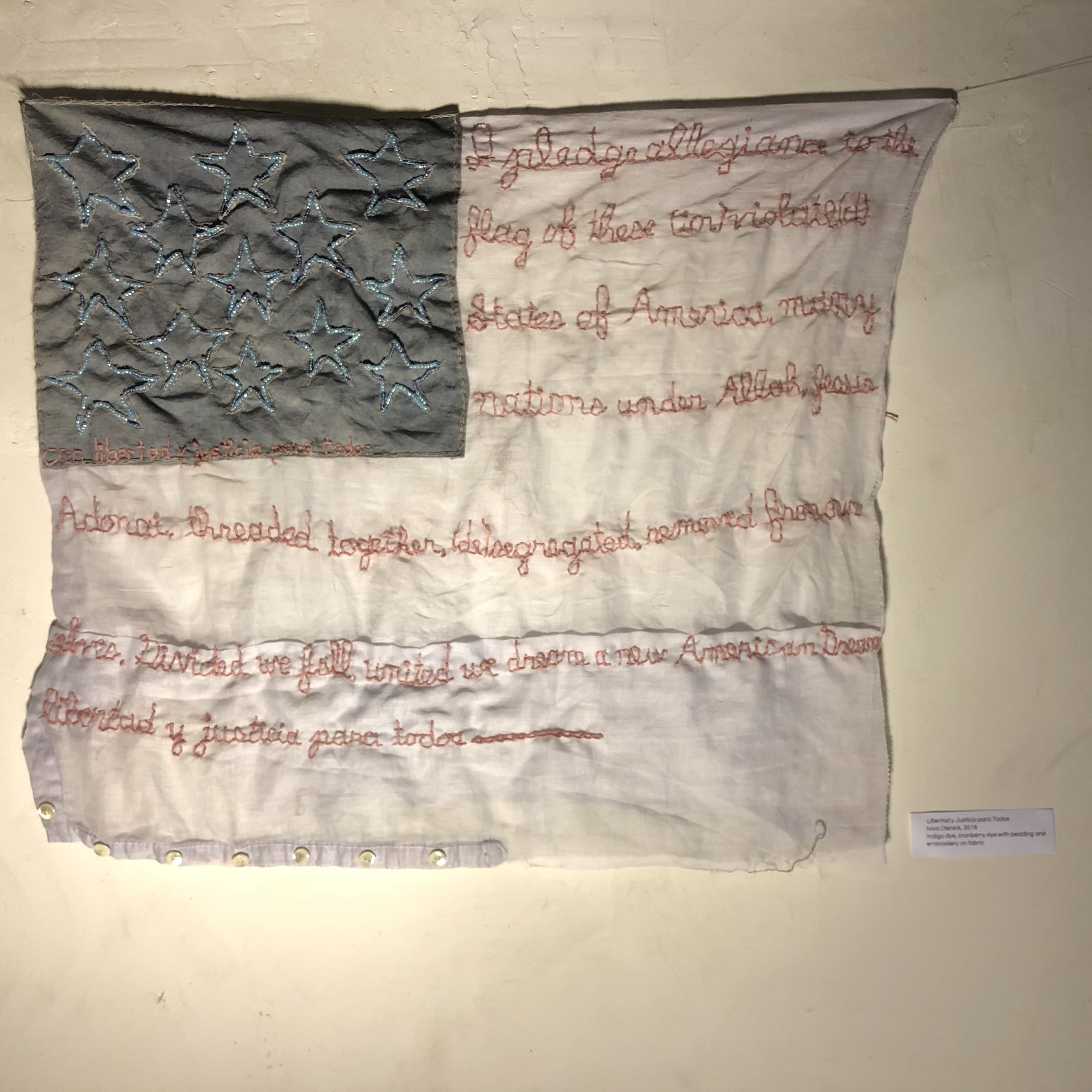 Iviva Olenick   Text as textiles